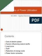 Economics of Power Utilization.ppt