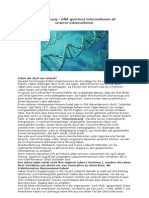 Erberinnerung – DNA speichert Informationen all unserer Inkarnationen