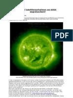 UFOs Auf Satellitenaufnahmen Von NASA Wegretuschiert