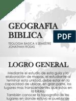 GEOGRAFIA BIBLICA