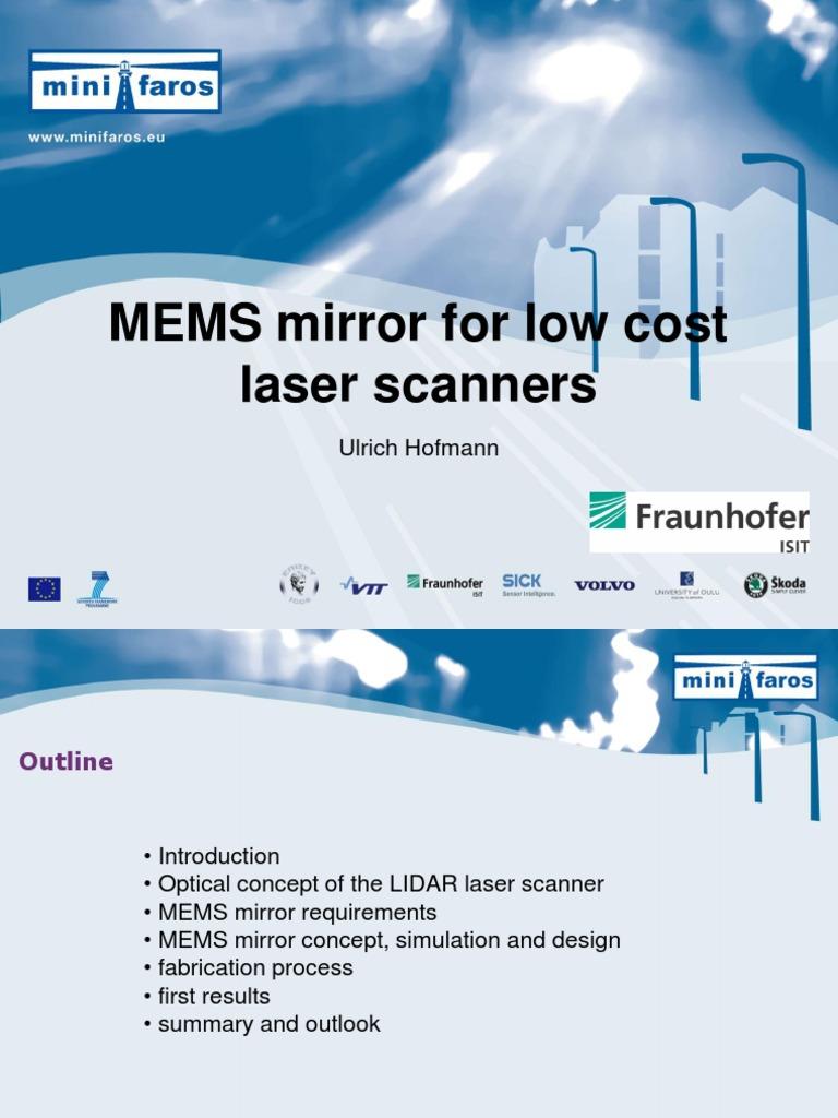 MEMS mirror | Microelectromechanical Systems (147 views)