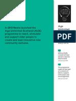 AUS Findings 2012
