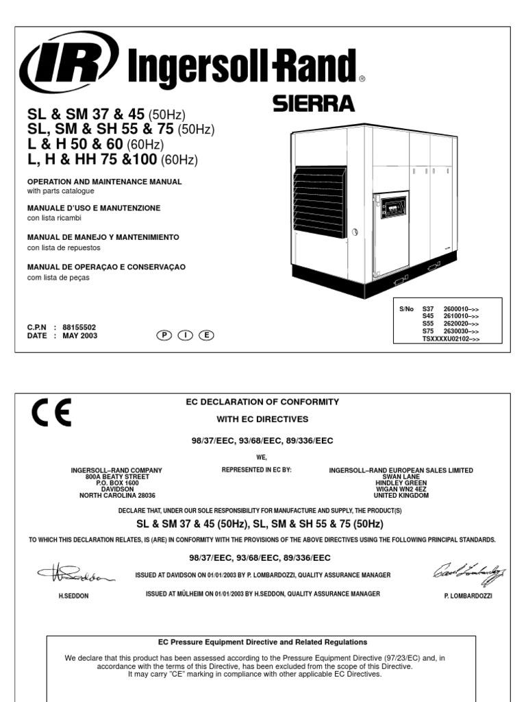 atlas copco ga 55 maintenance manual