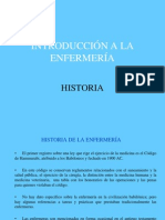 HISTORIA DE ENFERMERÍA 1ª clase