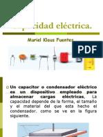 Capacidad-electrica