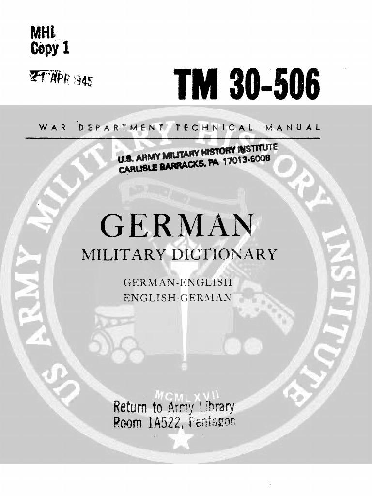 TM 30 506 | Anchor | Artillery
