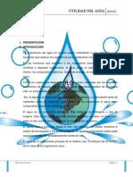 Utilidad Del Agua Monografia