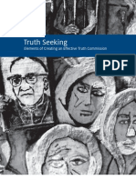 Truth Seeking Elements of Creating an Eff ective Truth Commission