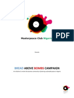 Bread Above Bombs Campaign Guideline