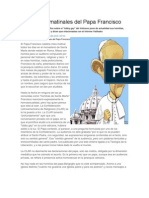 Los Dardos Matinales Del Papa Francisco