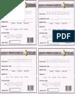 Philhealth Payment Form