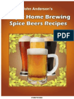 Simple Home Brewing Spice Beer Recipes - John Anderson