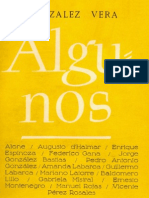 Algunos, José Santos González Vera