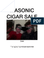 Masonic Cigar Sale PDF