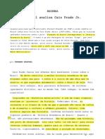 Braudel - Resenha- Análise sobre Caio Prado