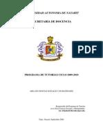 Area Ciencias Sociales y Humanidades