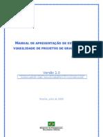 Manual para Elaboração de Projetos de Grande Vulto