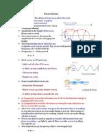 IGCSE Physics Topic 1 Waves