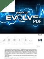 Evolve Manual English
