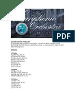 Silver Edition Programs