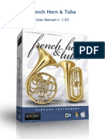 French Horn & Tuba Manual v. 1.03