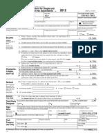 2012 Federal Return