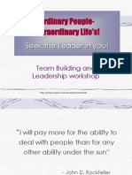 Team Buliding & Leadership Skills