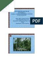 Lenguas Mayas de Guatemala