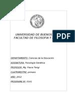 Programa Psicología genética Terigi Cs. de la Educación
