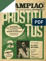 34 - Lampiao Da Esquina Edicao 30 - Novembro 1980