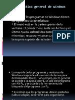 Windows 7 y sus caracteristicas generales