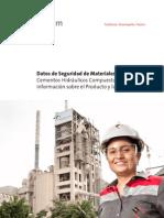 MSDS Cementos Hidraulicos Compuestos