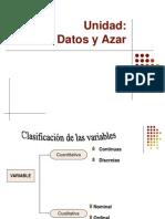 Datos y Azar Octavo Basico