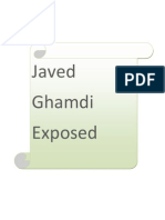 Javed Ghamdi Exposed