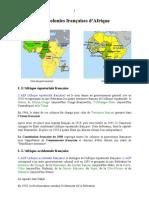 Afrique Colonies