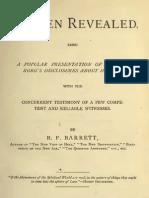 B F Barrett HEAVEN REVEALED Philadelphia 1885