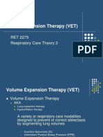 RET 2275 Volume Expasion Therapy
