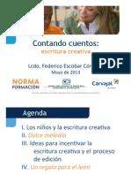 Elemental -Taller Escritura Creativa - Federico Escobar Cordoba