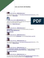 Ejemplo de Tweets Del Timeline
