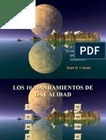 Decalogo de La Calidad (The ten commandments of TQM)