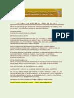 Lecturas 3-A Semana de Junio de 2013