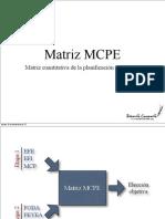 Matriz Mcpe
