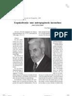 Ezquizofrenia, una antropogénesis inconclusa - Goldar