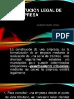 Constitución Legal de una Empresa, pp