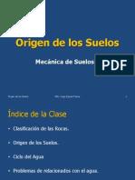 Clase 2 Origen de Los Suelos Hugo Egoavil Perea
