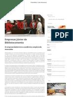 Empresas Junior de Biblioteconomia - Revista Biblioo Ed. 19 ABRIL 2013