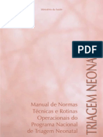 Manual de Triagem Neonatal