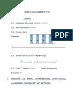 SESIÓN DE APRENDIZAJE Nº 06