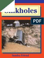 Sinkholes by Sandra Friend