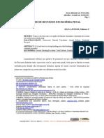 Dualidade de recursos em materia penal - SILVA JR., Nelmon J.